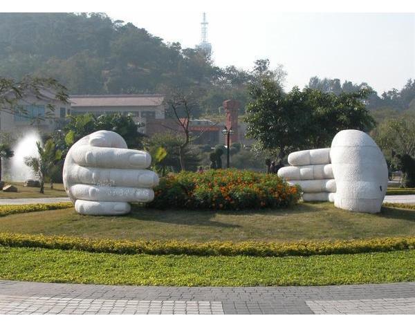 雕塑对园林景观的影响