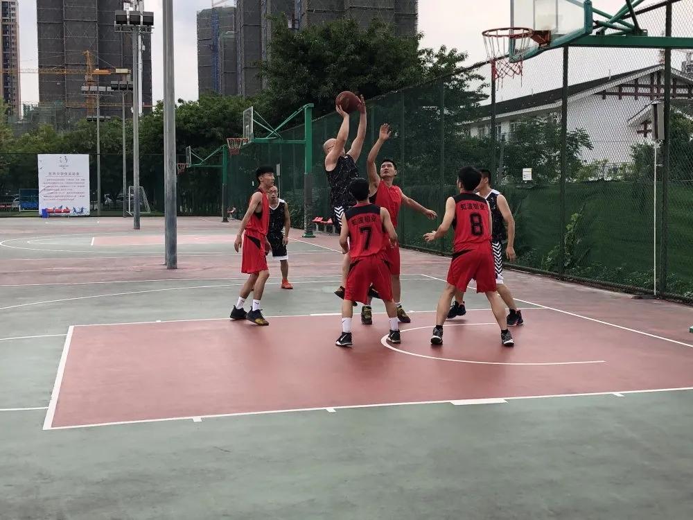 玉龙公司——虹波钼业篮球友谊赛