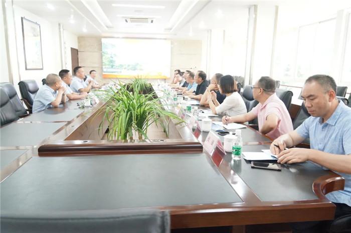 重庆建峰集团领导一行莅临玉龙公司考察交流