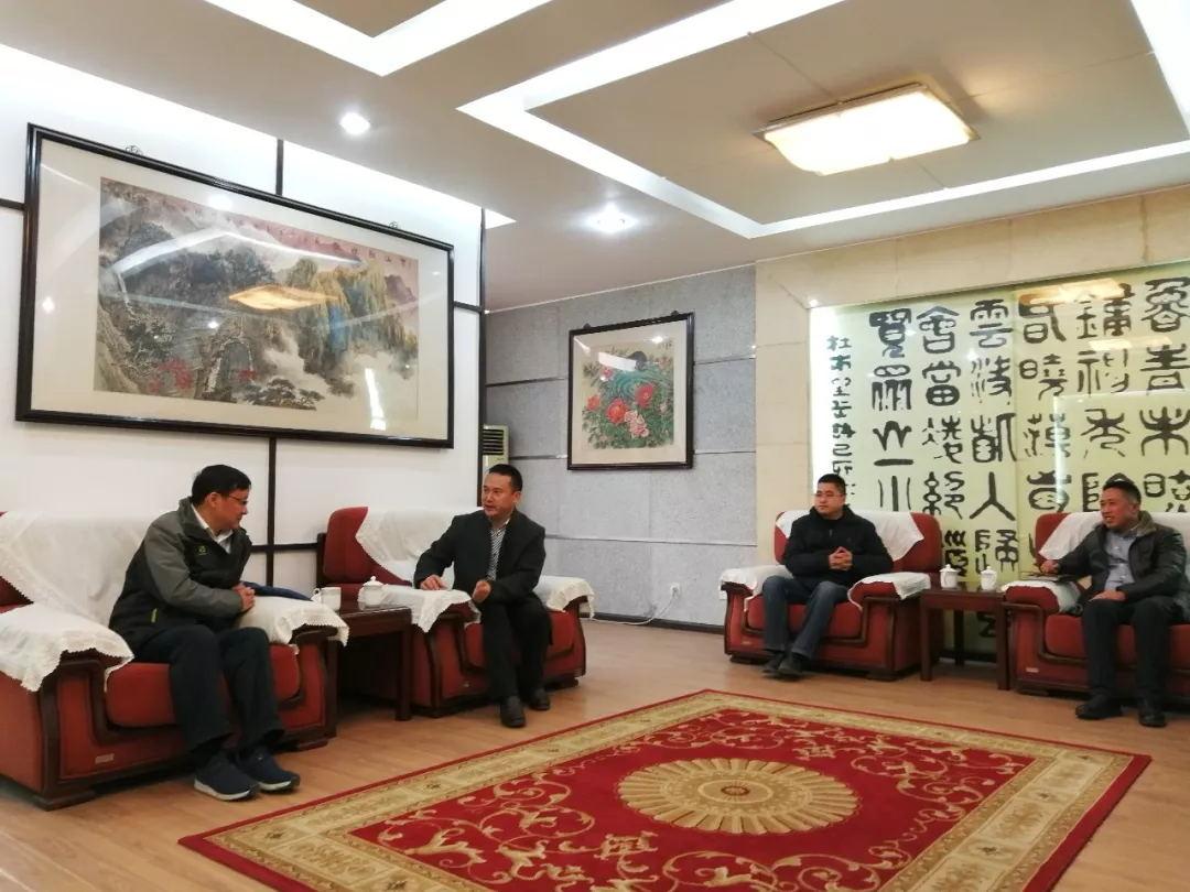 青白江电网公司新任总经理卢永忠带领班子成员一行莅临玉龙公司调研