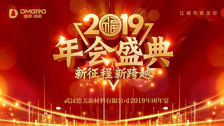 新征程 新跨越丨德美新材料2019年年会盛典圆满举行!